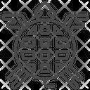 Maya turtle Icon