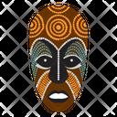 Mayan Mask Tribal Mask Cultural Mask Icon