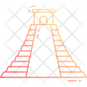 Mayan Pyramid Icon