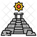 Mayan Ruins Egypt Pyramid Pyramid Icon