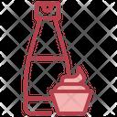 Mayonnaise Bottle Mayonnaise Condiment Icon