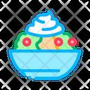 Mayonnaise Salad Spice Icon