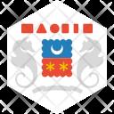 Mayotte Flag World Icon
