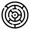Maze Puzzle Labyrinth Icon