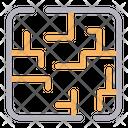 Maze Game Play Icon