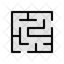 Maze Labyrinth Puzzle Icon