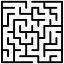 Puzzle Business Challenge Maze Game Icon