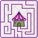 Maze Puzzle Puzzle Game Icon