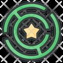 Maze Metaphor Strategy Icon