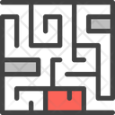 Maze Labyrinth Puzzle Icon