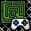 Maze Complexity Road Icon