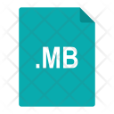 Mb File Format Icon