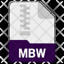 Mbw file Icon