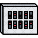 Transfer Switch Box Icon