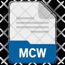 Mcw file Icon