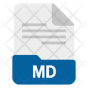 Md File Format Icon