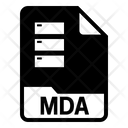 Mda File Icon