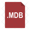 Mdb File Format Icon
