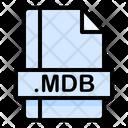 Mdb File File Extension Icon