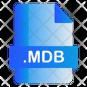Mdb Extension File Icon