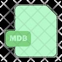 File Mdb Extension Icon