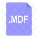 Mdf File Format Icon