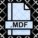 Mdf File File Extension Icon