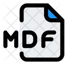 Mdf File Icon