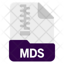 Mds File Document Icon