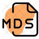 Mds File Audio File Audio Format Icon