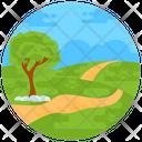 Nature Landscape Scenery Icon