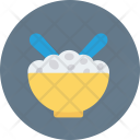 Meal Bowl Spoon Icon