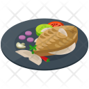 Fish Meal Food Icon