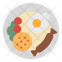 Fried Meal Rice Icon