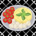 Salad Fresh Mozzarella Icon