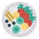 Dish Plate Food Icon