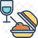 Meal Food Edible Icon