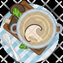 Meal Mushroom Restaurant Icon