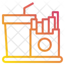 Fast Food Restaurant Kitchen Icon