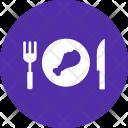 Meal Leg Piece Icon