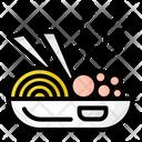 Meal Bowl Non Veg Meal Meatball Icon