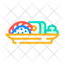 Meal Dish Meal Sushi Icon