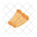 Roll Fastfood Ingredients Icon