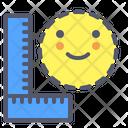 Measure Build Crop Icon