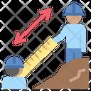 Measure Engineer Fieldwork Icon