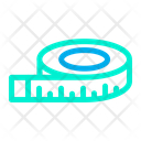 Measure Tape Measurement Scale Icon