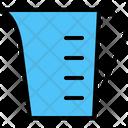 Measure Beaker Glass Icon