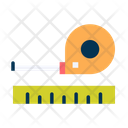 Measure Measure Tape Scale Icon