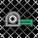 Tape Measure Construction Icon