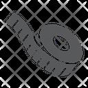 Measuring Measure Tape Icon